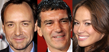 Kevin Spacey, Antonio Banderas, Moon Bloodgood