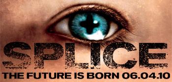 Splice Teaser Poster