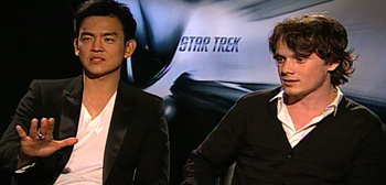 John Cho and Anton Yelchin