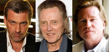 Ray Stevenson, Christopher Walken, Val Kilmer