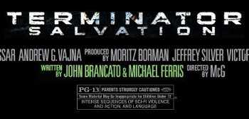 Terminator Salvation - Credited Writers