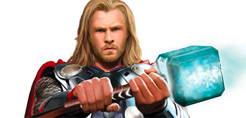 Chris Hemsworth in Marvel's Thor