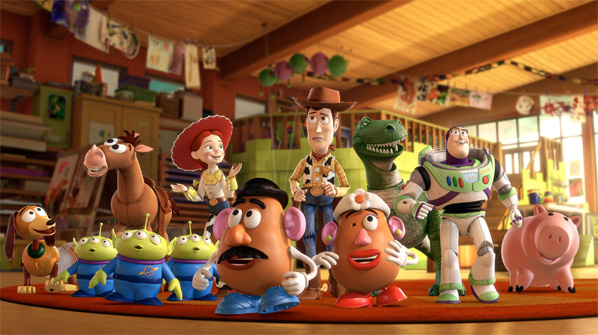 Toy Story 3 Cast Photo