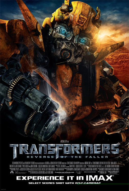Transformers: Revenge of the Fallen IMAX Poster
