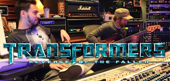 Linkin Park in Studio - Transformers: Revenge of the Fallen