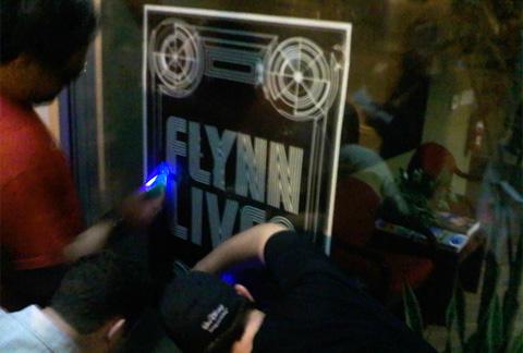 Flynn Lives Poster