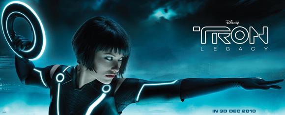 Tron Legacy Billboard - Olivia Wilde
