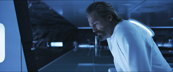 Jeff Bridges in Tron Legacy