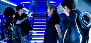 Tron Legacy Set Visit