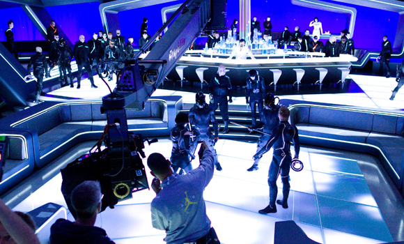 Tron Legacy Set Photos