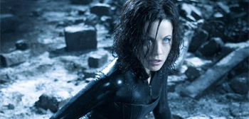 Kate Beckinsale in Underworld