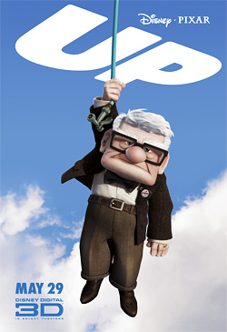 Up Poster - Carl Fredricksen