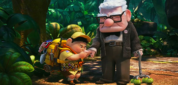 Pixar's Adventures with Carl and Russell - First Aid