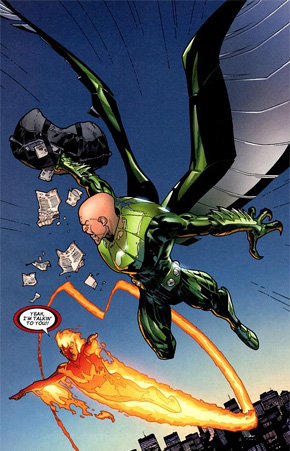Vulture in Spider-Man