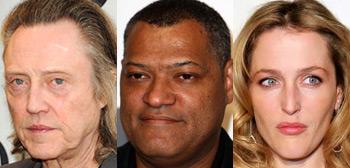 Christopher Walken, Laurence Fishburne, Gillian Anderson