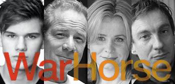 War Horse Cast - Jeremy Irvine, Peter Mullan, Emily Watson, David Thewlis