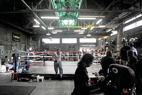 Gavin O'Connor's Warrior Production Photo