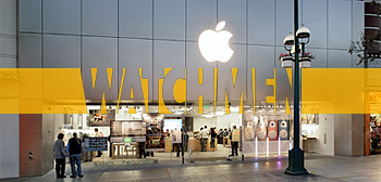 Watchmen Appearances at California Apple Stores