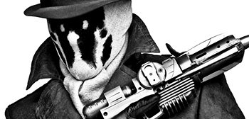 Beautiful Black and White Watchmen Character Portraits