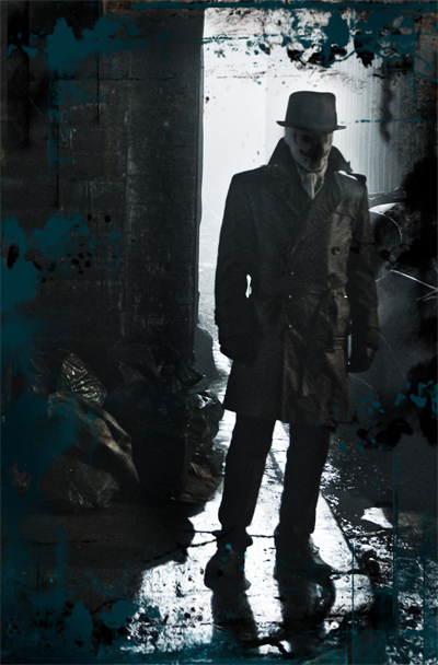 Jackie Earle Haley as Rorschach in Watchmen