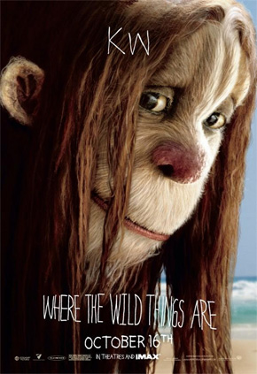 Where the Wild Things Are Character Posters