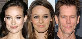 Olivia Wilde, Alicia Silverstone, Kevin Bacon