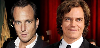 Will Arnett and Michael Shannon