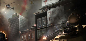 Awesome Concept Art for Max Brooks' World War Z Movie