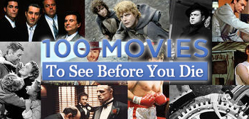 Yahoo's 100 Movies to See Before You Die List Unveiled