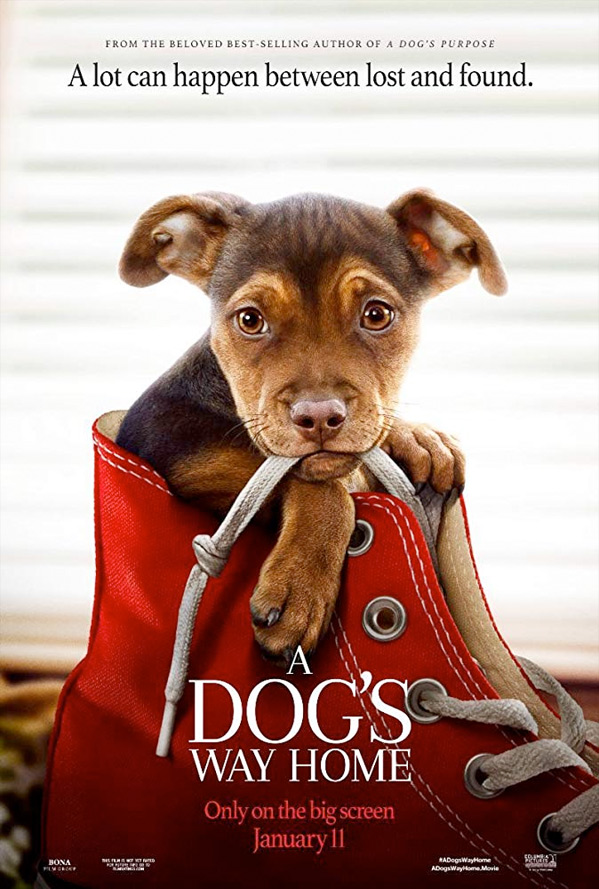 A Dog's Way Home Poster