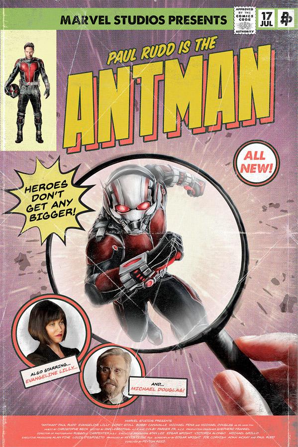 Ant-Man - Poster Posse
