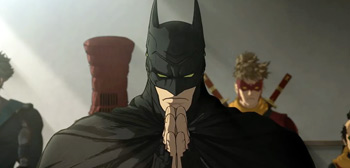 BatmanNinjaTrailerHandsprayUStsr02 - US Trailer for Anime 'Batman Ninja' Film Arriving on VOD This April