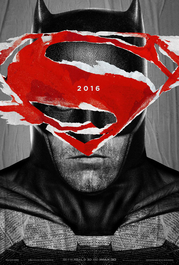 Batman v Superman Poster - BATMAN