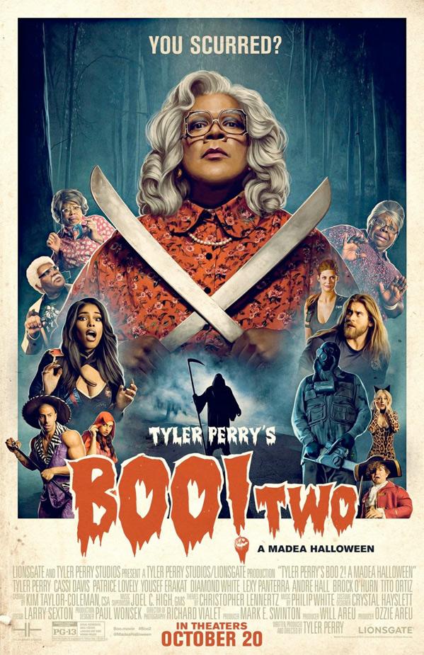Boo 2! A Madea Halloween Poster