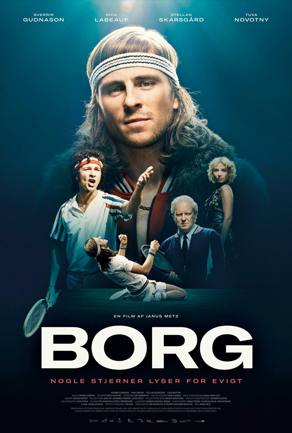 Borg/McEnroe Poster