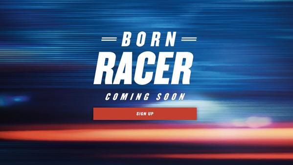 Born Racer Poster