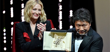 Cannes 2018 Awards: Hirokazu Koreeda 'Shoplifters' Wins Palme d'Or