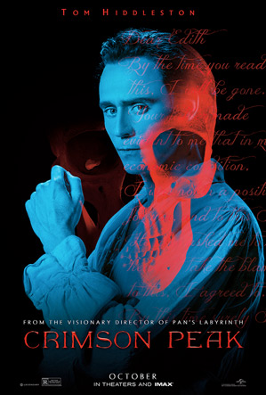 Crimson Peak Poster - Tom Hiddleston