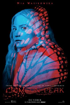 Crimson Peak Poster - Mia Wasikowska