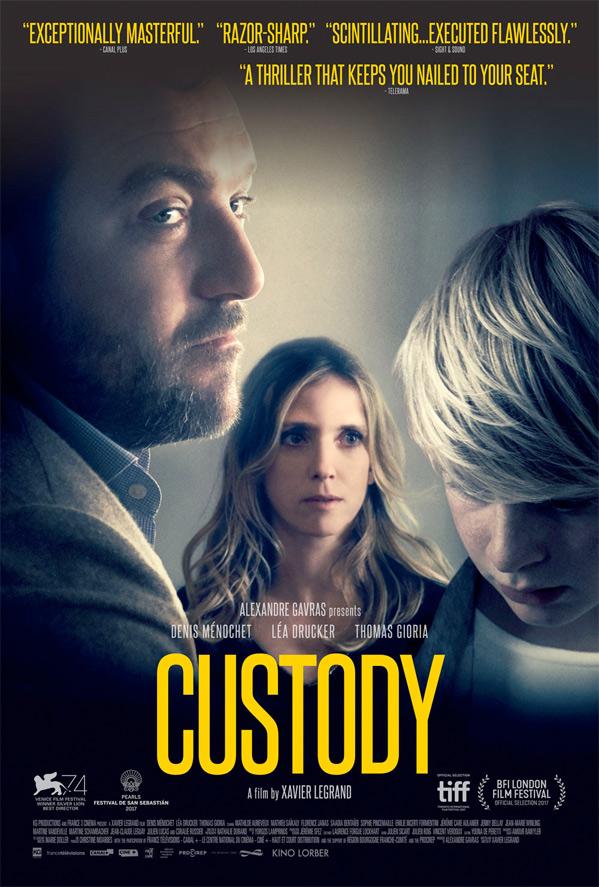 Custody Film Poster