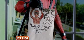 Deadpool Set Interview