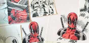 Deadpool Sketches