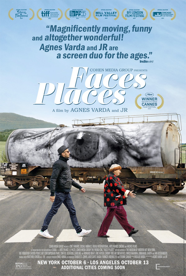 Faces, Places Poster