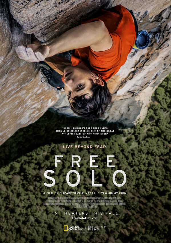 Defying History >> Full Trailer for 'Free Solo' Documentary About El Capitan Free Climber | FirstShowing.net