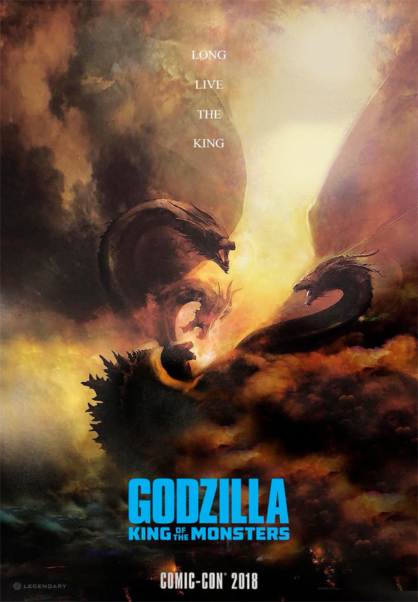 Godzilla: King of the Monsters Teaser Poster