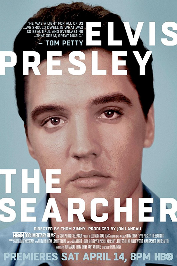 'Elvis Presley: The Searcher Poster' from the web at 'http://media2.firstshowing.net/firstshowing/img10/HBODocsearcherElvisbigposter59901.jpg'