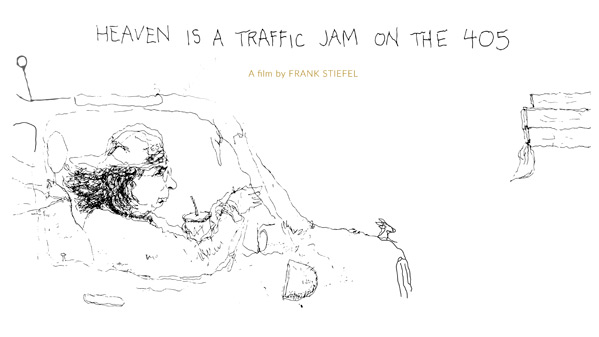 Heaven is a Traffic Jam on the 405 Poster