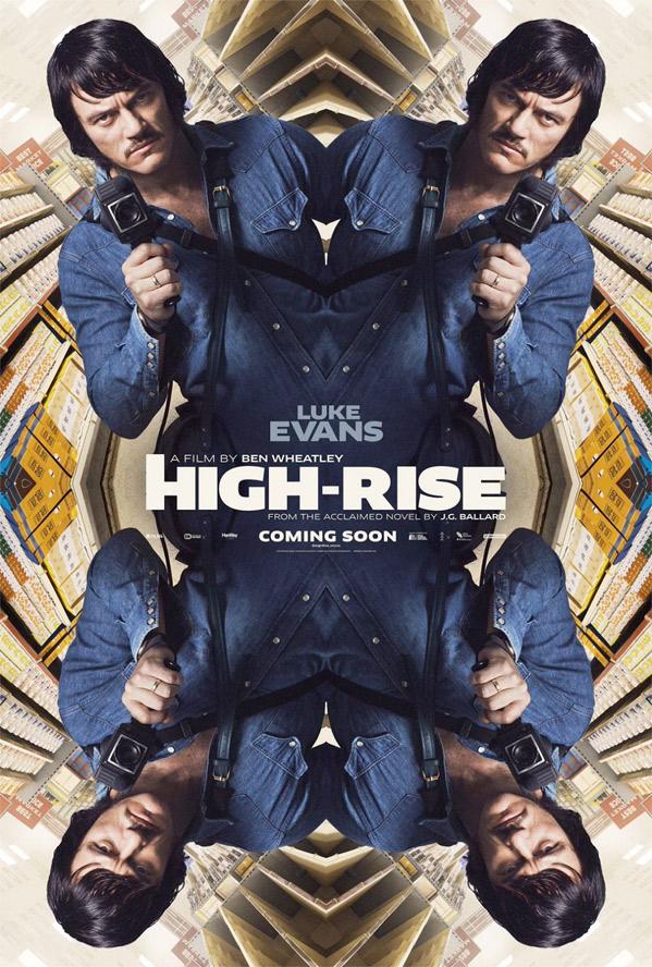 High-Rise Poster - Luke Evans