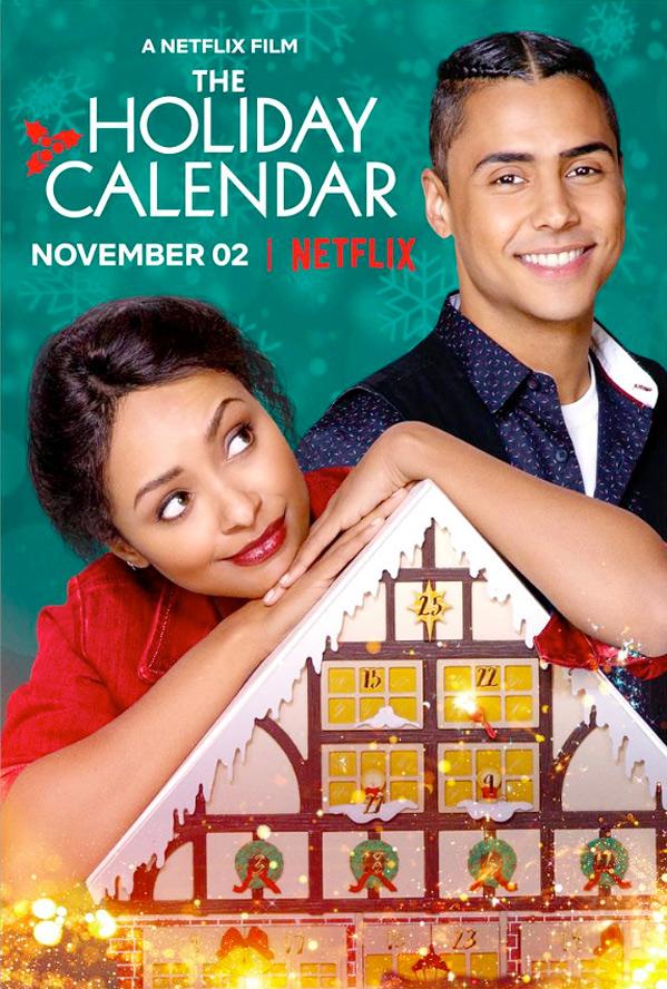 Christmas Calendar Movie : Kat graham in trailer for charming netflix film the