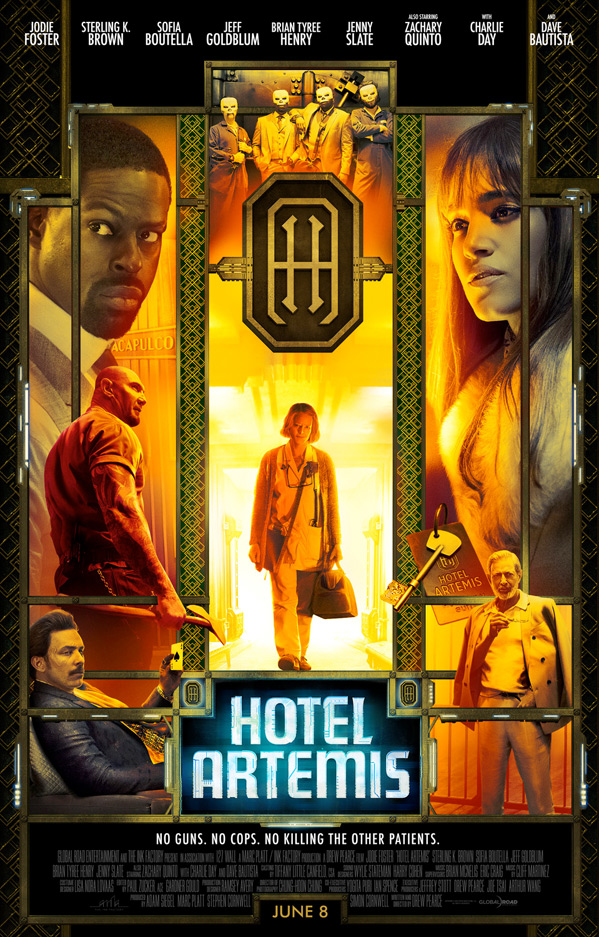 Hotel Artemis Movie